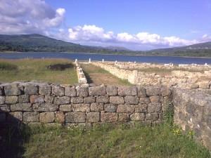 Campamento romano de Aquis Querquennis, Bande. Foto: J. M. García.