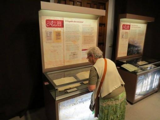 A exposición está aberta ata o día 9 de outubro. FOTO: Cedida AHPOU