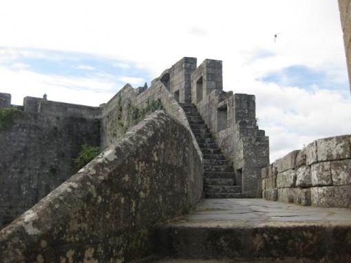 O castelo de Castro Caldelas é un dos BIC de Galicia. FOTO: J.M.G.