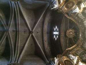 Bóvedas de la capilla mayor. FOTO: J. M. G.