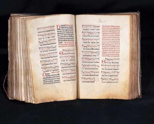 Detalle del Missale Auriense. FOTO: Mani Moretón Brasa