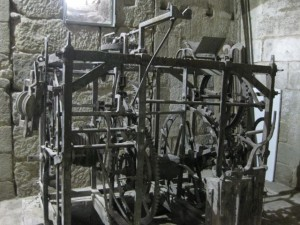 Detalle de la maquinaria del reloj. FOTO: J.M.G.