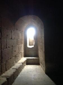 Habitáculo dentro de la torre medieval. FOTO: J.M.G.