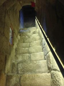 Detalle de la bóveda de la escalera. FOTO: J.M: G.
