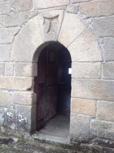 Puerta de acceso a la torre. FOTO: J.M.G.