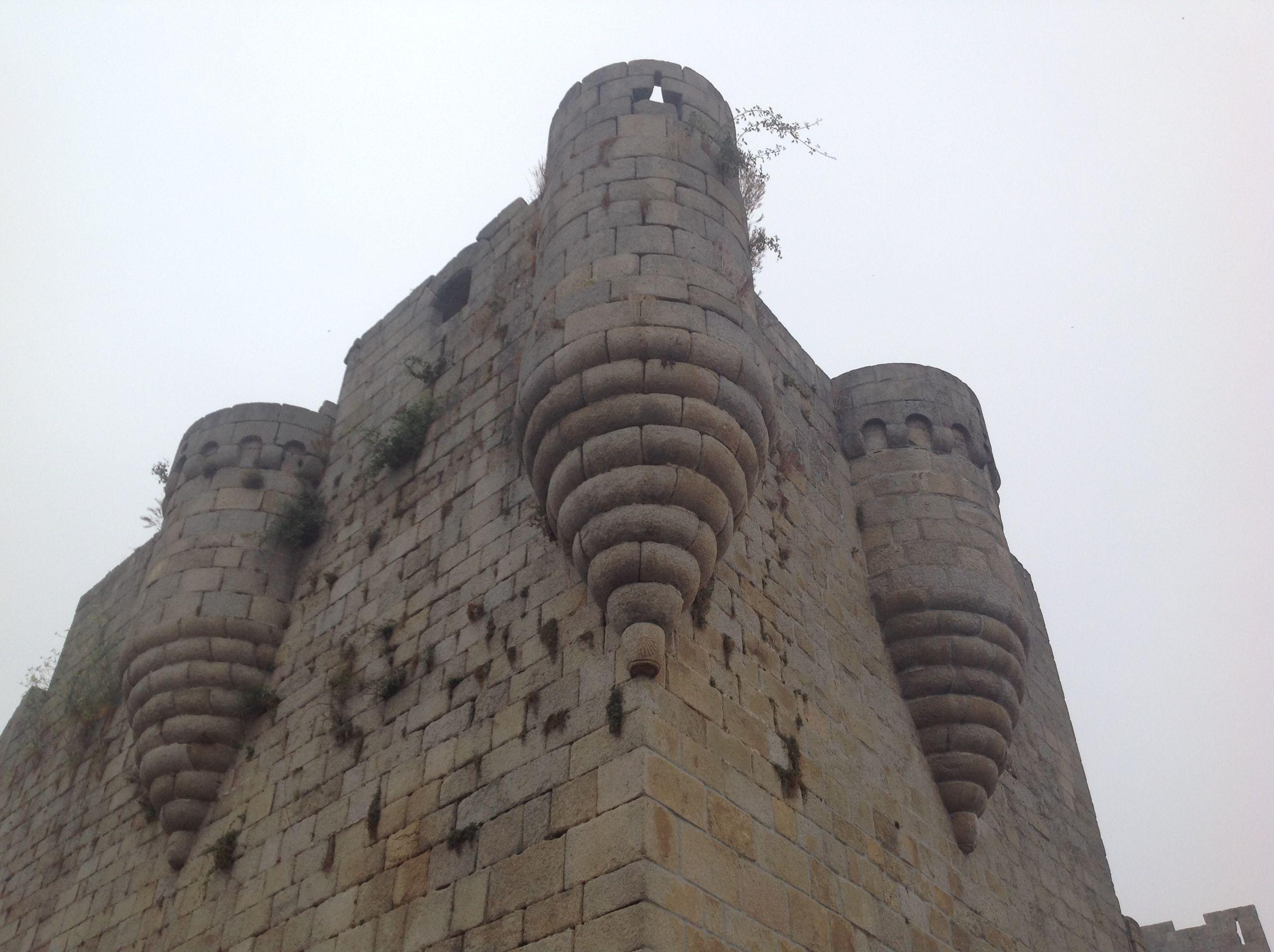Castillo de Casto Caldelas. FOTO: J.M.G.