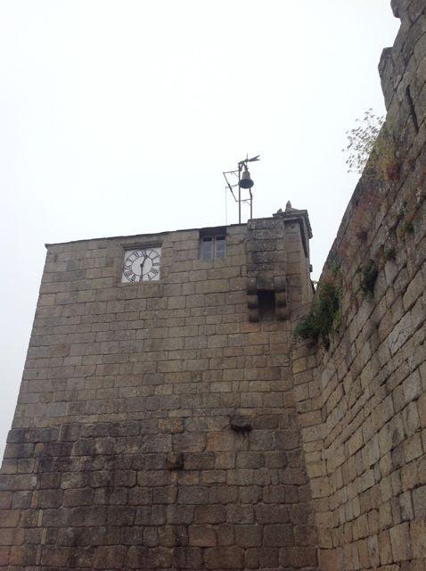 Aspecto exterior de la Torre del reloj. FOTO: J.M.G.