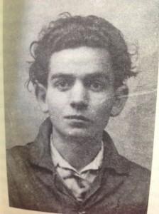 Retrato de Antón Patiño hecho por Manuel Seoane Díaz, publicado en su libro. FOTO: Cedida.
