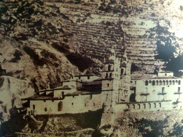 Fotografía del santuario en el año 1934. FOTO: Cedida.