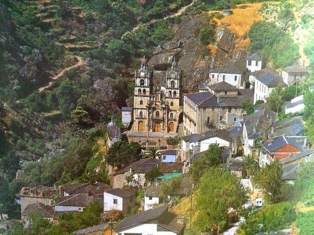 El santuario se ubica junto a la garganta del Bibei. FOTO: Cedida.