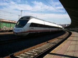 Las estaciones de ferrocarril también son no lugares. FOTO: J.M.G.