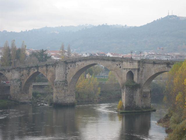 Vista del puente aguas arriba. FOTO: J.M.G.