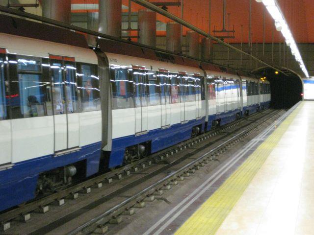El metro está cargado de simbolismo. FOTO: J.M.G.