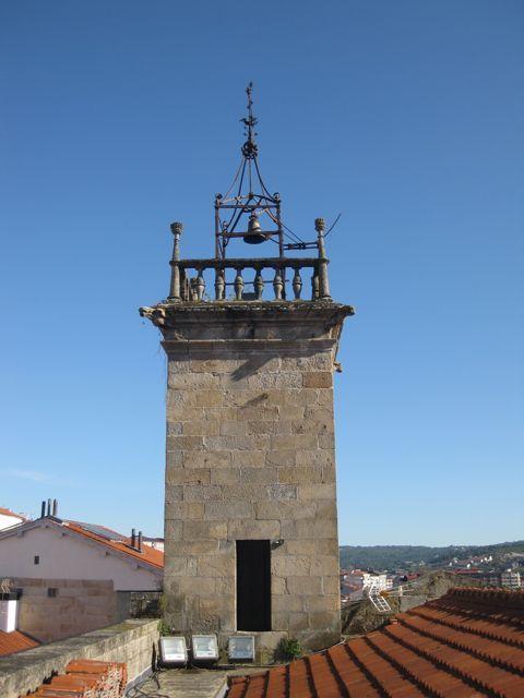 Torre del reloj vista desde las cubiertas. FOTO: J.M.G.