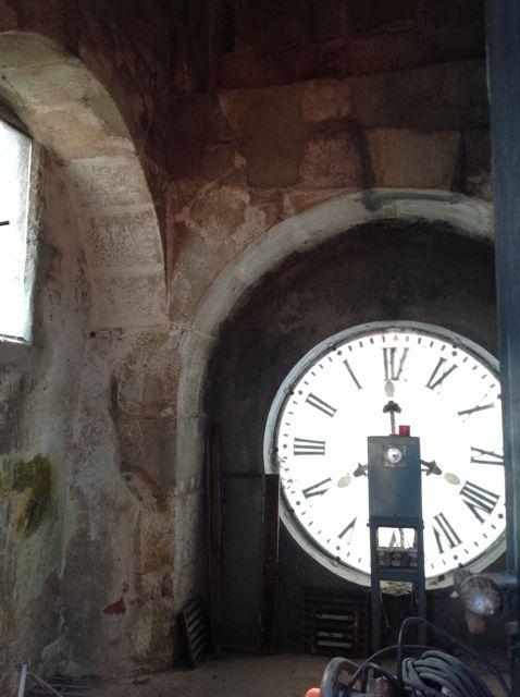 Cuerpo interior del reloj, en la torre homónima. FOTO: J.M.G.