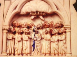 Escena de la Ascensión de Jesús al Cielo. FOTO: J.M.G.