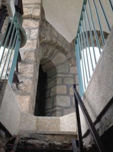 Llegada al cuerpo de campanas o segundo piso, FOTO: J.M.G.