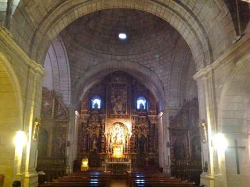 Interior de la iglesia de Santo Domingo. FOTO: J.M.G.