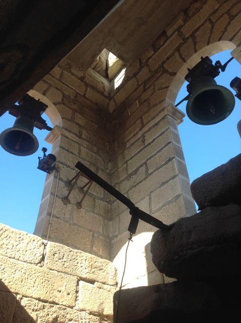 Llegada al cuerpo de campanas. FOTO: J.M.G.