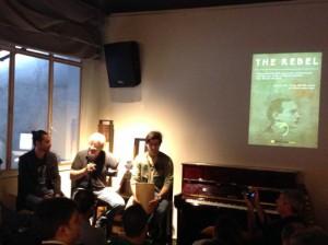 Óscar Doviso, Miguel Caride e Iván Caride, en la presentación del ambicioso proyecto. FOTO: J.M.G.