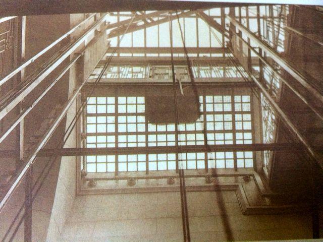 Vista interior del hueco de los ascensores. FOTO: Archivo Metro de Madrid