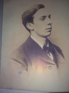 Foto de Willie Pearse, asesinado por haber participado en la declaración de independencia. FOTO: Cedida.