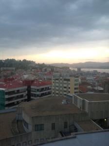 Una vista de la ciudad desde la séptima planta de la torre. FOTO: J.M.G.