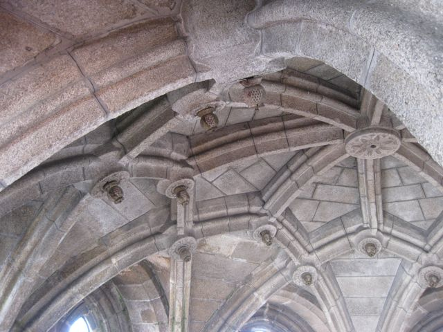 Otra perspectiva de la bóveda. FOTO: J.M.G.