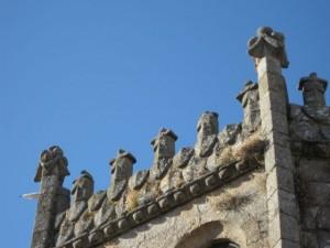 Pináculos superiores y crestería para coronar el cimborrio. FOTO: J.M.G.
