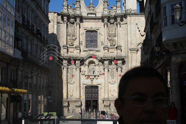 Fachada barroca de la iglesia que fue de los jesuitas. FOTO: V. Escudero.