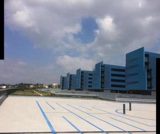 El nuevo hospital de Vigo tardará meses en normalizarse. FOTO: J.M.G.