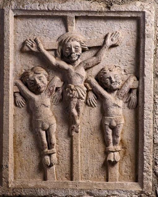 Representación de la crucifixión. FOTO: Mani Moretón.
