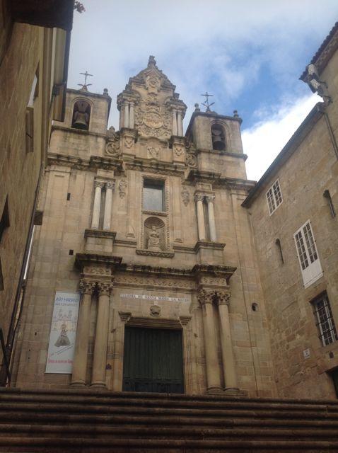 Esta iglesia no parece haber sido en la antigüedad solar de la primitiva catedral ourensana. FOTO: J.M.G.