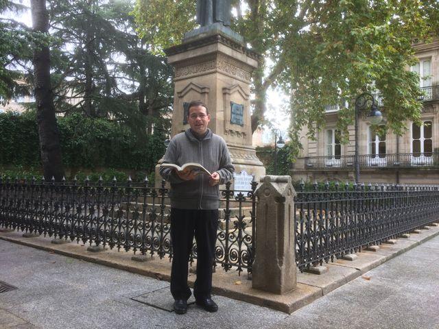 José Ramón Hernández Figueiredo es el autor de esta importante investigación que rescata del olvido la vida y la obra de Bedoya. FOTO: J.M.G.