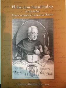 Portada del libro con la vida y obra de Bedoya. FOTO: J.M.G.