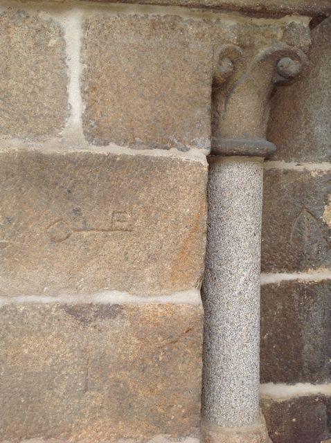 Otra llave en el muro occidental del brazo norte del crucero. FOTO: J.M.G.