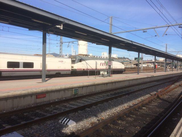 Un Tren-Hotel en la estación de Vigo-Guixar. FOTO: J. M. G.
