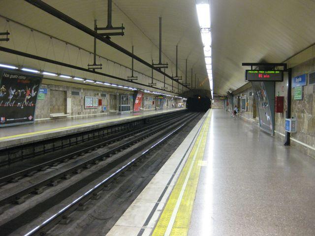 Palacios Ramilo diseñó las estaciones de las líneas 1, 2, 3