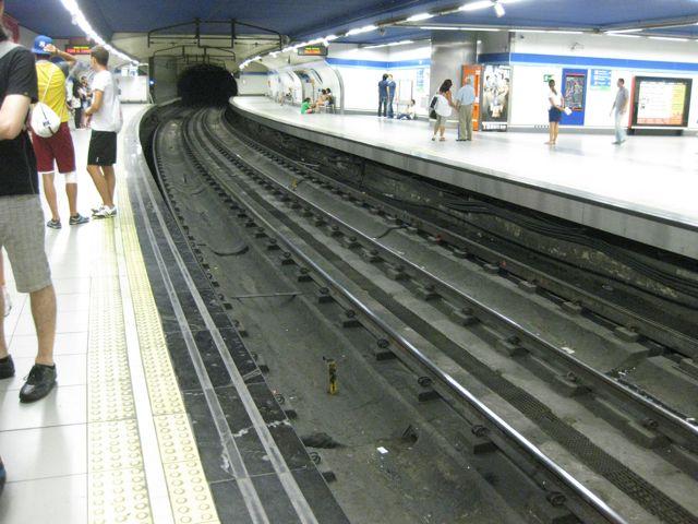 Hoy las líneas diseñadas por Palacios están muy modificadas y solo puede verse el toque original en el espacio Andén 0. FOTO: J.M.G.