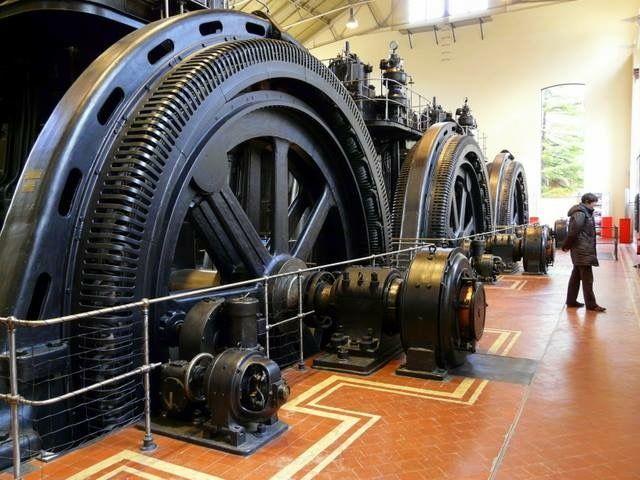 Centro de generación de energía de Pacífico, obra también de Antonio Palacios. FOTO: Metro de Madrid.