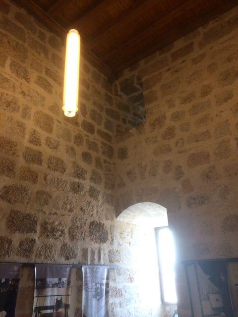Uno de los dos pisos que tiene el cuerpo de la torre antes de alcanzar el campanario. FOTO: J.M.G.