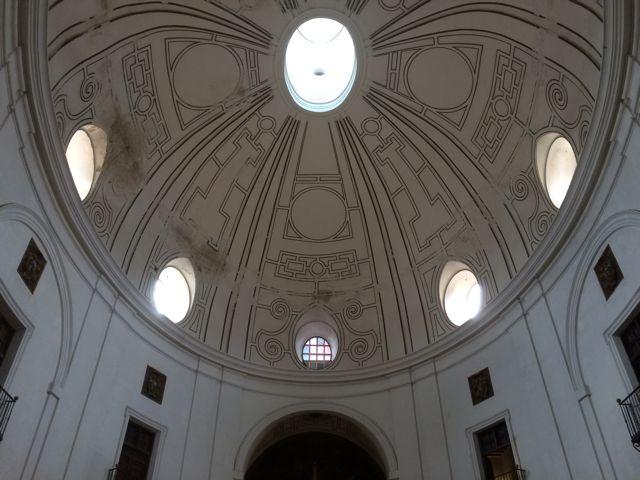 La cúpula elíptica es la más grande de España en su género. FOTO: J.M.G.