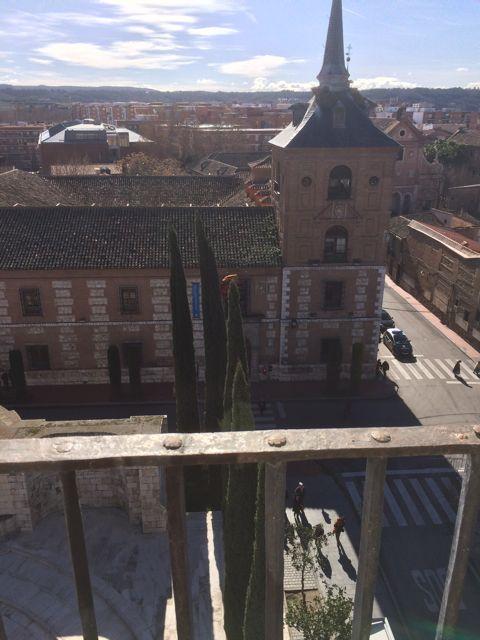Una parte del antiguo Colegio de Málaga. FOTO: J.M.G.